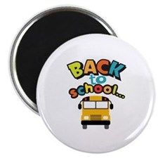 BACK TO SCHOOL BUS Magnets