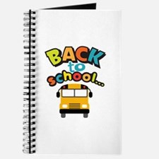 BACK TO SCHOOL BUS Journal