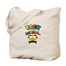 BACK TO SCHOOL BUS Tote Bag