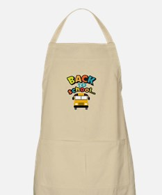 BACK TO SCHOOL BUS Apron