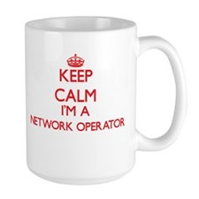Keep calm I'm a Network Operator Mugs