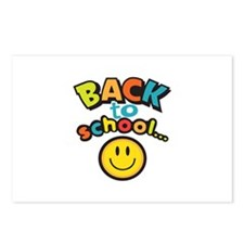 SCHOOL SMILEY FACE Postcards (Package of 8)