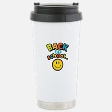 SCHOOL SMILEY FACE Travel Mug