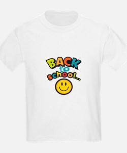 SCHOOL SMILEY FACE T-Shirt