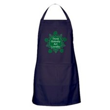 Go Green Apron (dark)