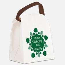 Go Green Canvas Lunch Bag