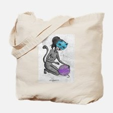 Cute Catwoman Tote Bag