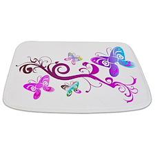 Butterfly Bathmat