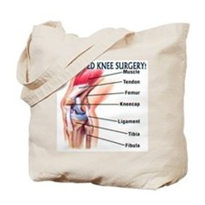 Acl reconstruction Tote Bag