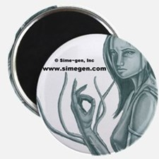 Sime Girl Magnet by Kip Grimes