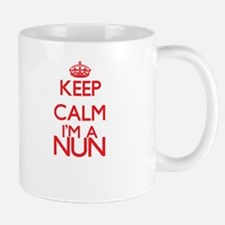 Keep calm I'm a Nun Mugs
