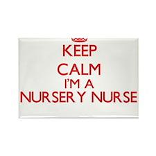 Keep calm I'm a Nursery Nurse Magnets