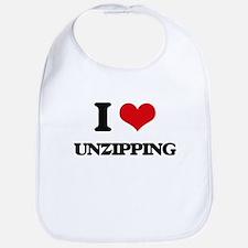 I love Unzipping Bib