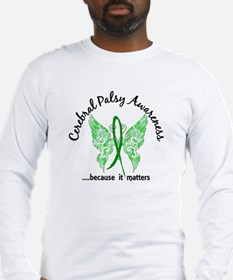 Cerebral Palsy Butterfly 6.1 Long Sleeve T-Shirt