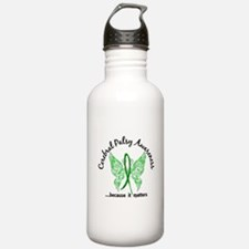 Cerebral Palsy Butterf Water Bottle
