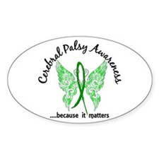 Cerebral Palsy Butterfly 6.1 Decal