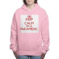 Keep calm I'm a Paramedi Women's Hooded Sweatshirt