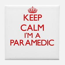Keep calm I'm a Paramedic Tile Coaster
