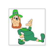 Leprechaun Cartoon Sticker