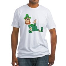 Leprechaun Cartoon T-Shirt