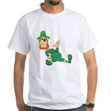 Leprechaun Cartoon T-Shirt