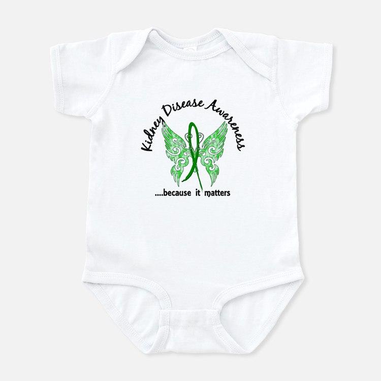 Kidney Disease Butterfly 6.1 Infant Bodysuit