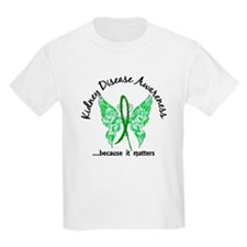 Kidney Disease Butterfly 6.1 T-Shirt