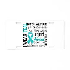 PCOS Aluminum License Plate