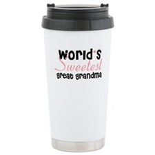 Unique Great grandmother to be Travel Mug