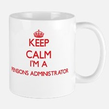 Keep calm I'm a Pensions Administrator Mugs