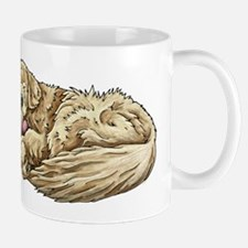 Sleeping Golden Retriever Mugs