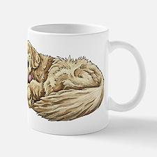 Sleeping Golden Retriever Mugs