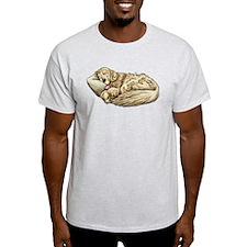 Sleeping Golden Retriever T-Shirt