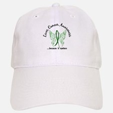 Liver Cancer Butterfly 6.1 Baseball Baseball Cap