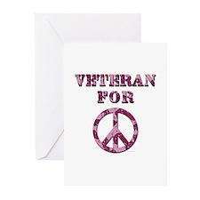 Veteran for Peace Greeting Cards (Pk of 10)