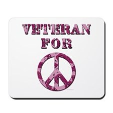 Veteran for Peace Mousepad