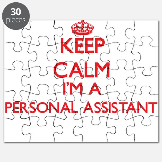 Keep calm I'm a Personal Assistant Puzzle