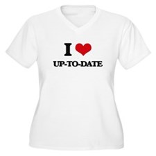 I love Up-To-Date Plus Size T-Shirt