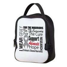 Parkinsons Disease Neoprene Lunch Bag