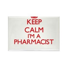 Keep calm I'm a Pharmacist Magnets
