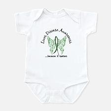 Liver Disease Butterfly 6.1 Infant Bodysuit