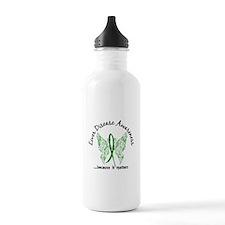Liver Disease Butterfl Water Bottle