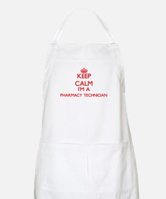 Keep calm I'm a Pharmacy Technician Apron