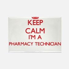 Keep calm I'm a Pharmacy Technician Magnets