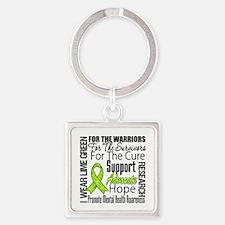 Mental Health Square Keychain