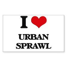I love Urban Sprawl Decal