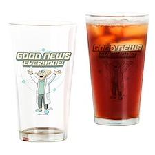 Futurama Good News Drinking Glass