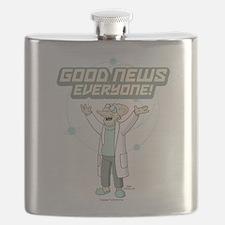 Futurama Good News Flask