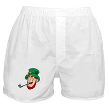 Laughing Leprechaun Boxer Shorts