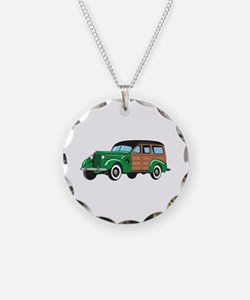 CLASSIC WOODY CAR Necklace